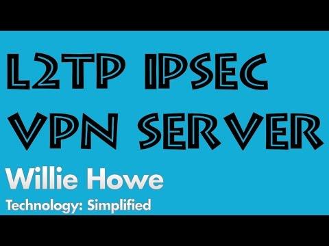 EdgeRouter L2TP IPSec Server Setup