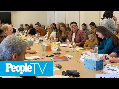 'Modern Family' Cast Emotionally Documents Final Table Read: 'They Left Tissues' | PeopleTV