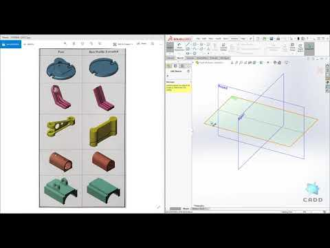 SolidWorks Tutorial Tip: How to Choose Best Profile and Sketch Plane thumbnail