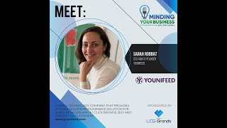 Meet Younifeed ceo and co-founder Sarah Robbat (Italy)