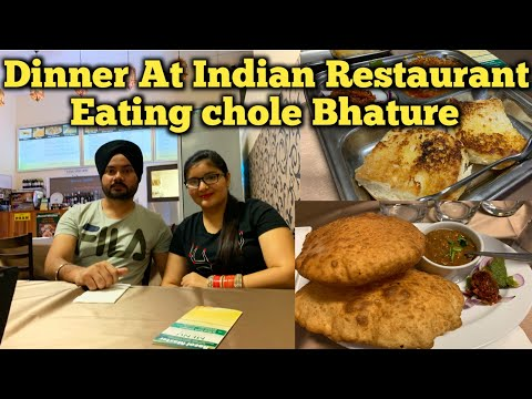 First Dinner At Indian Restaurant In Australia | Students Life Australia | Punjabi Vlog