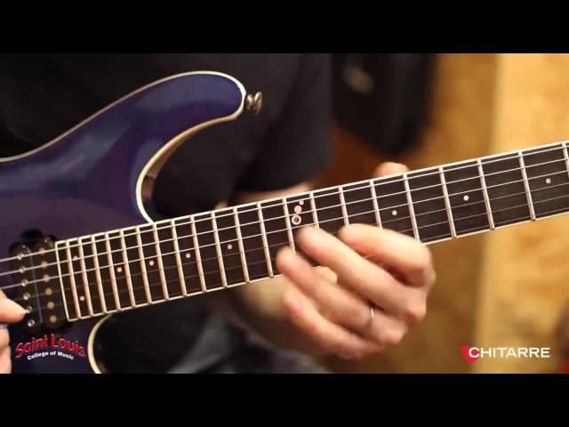 Rock-fusion e linee cromatiche William Stravato