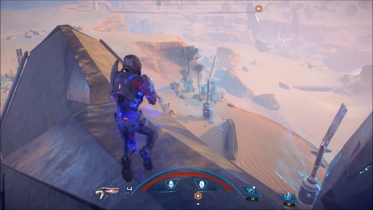 Mass Effect Andromeda Scan for the Glyph First Monolith