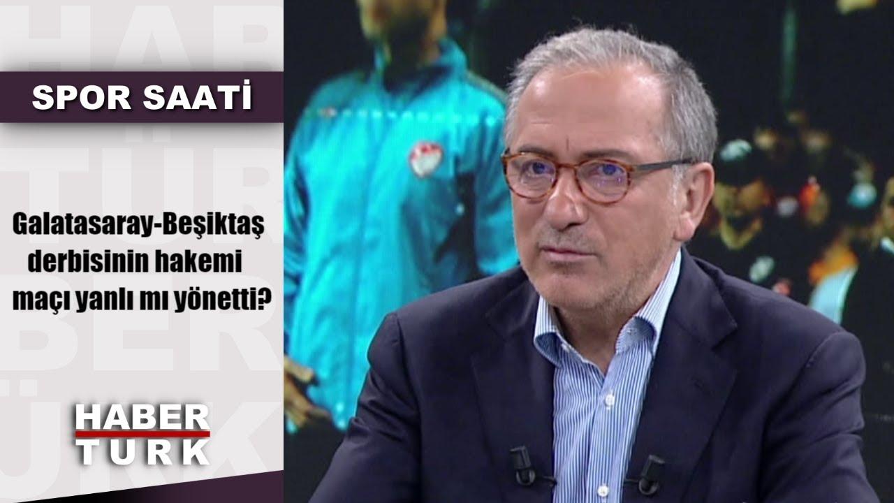 Spor Saati - 7 Mayıs 2019 (Galatasaray-Beşiktaş derbisinin hakemi maçı yanlı mı yönetti?)