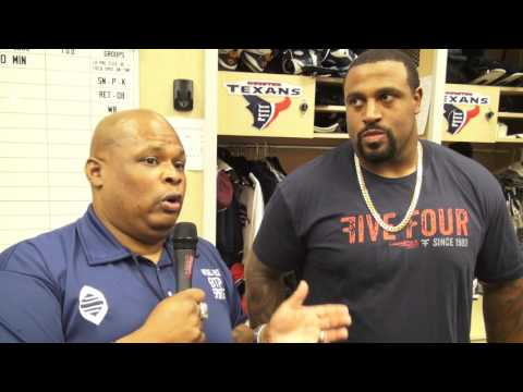 BTP Sports: MItchell Brock interviews Texans LT Duane Brown