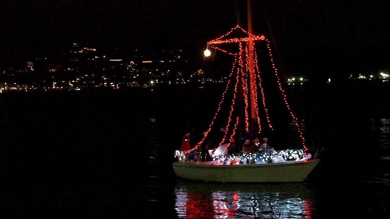 Christmas Boat Parade - Yaquina Bay