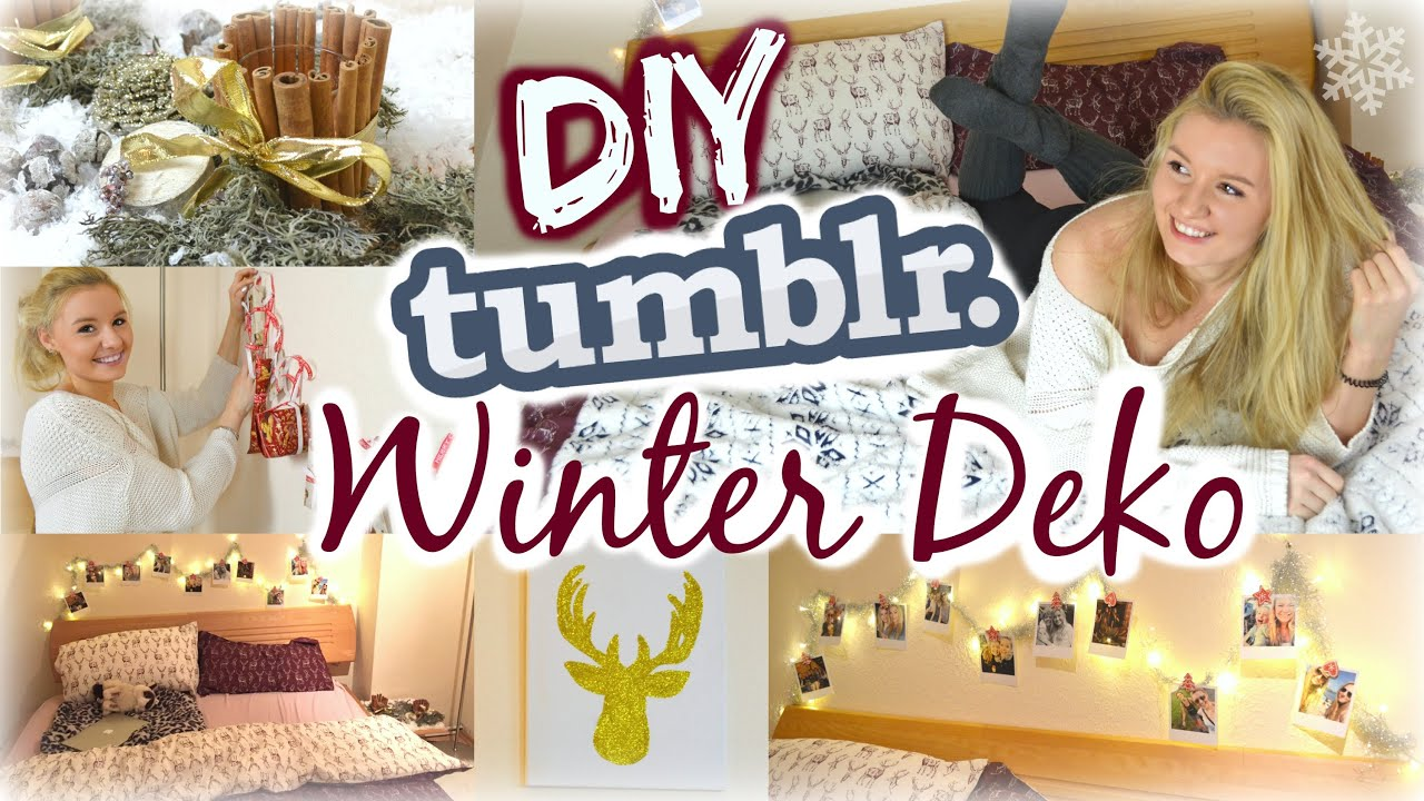 diy tumblr inspirierte winter weihnachtsdeko ideen f r. Black Bedroom Furniture Sets. Home Design Ideas