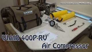 Viair 40047 400P-RV Automatic Portable Compressor Kit Unboxing and Demo