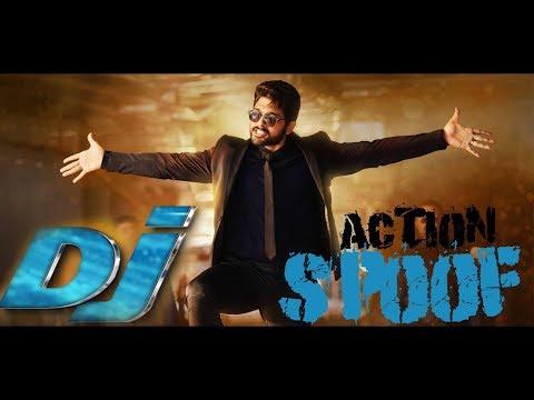 ডি.জে Spoof From বাংলাদেশ   DJ Full Tamil Movie IN Hindi Dubbed Action Spoof   Allu Arjun   Puja