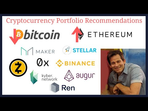 Cryptocurrency portfolio recommendations.  Rebalance for more Ethereum ETH and less Bitcoin BTC