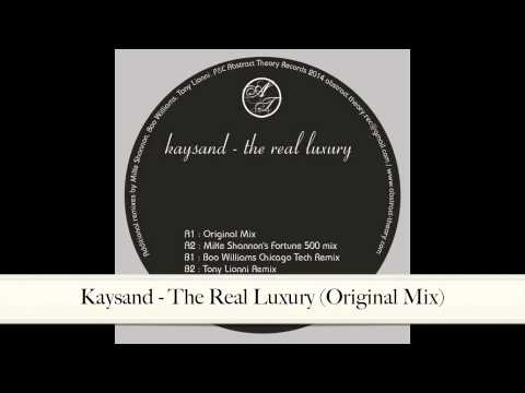 Kaysand - The Real Luxury (Original Mix) [ABSTRACT THEORY VINYL 003]