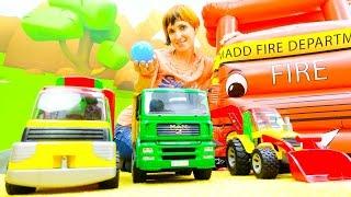 Download Веселая Школа с Машей Капуки Кануки - Видео для детей - Играем с машинками Mp3 and Videos