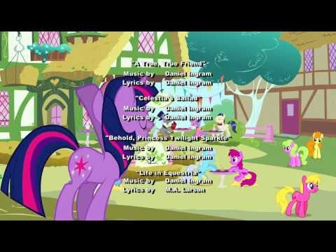 MLP: Magical Mystery Cure Credits (with theme from America's Funniest Home Videos)