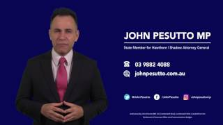 John Pesutto MP Commercial