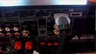 receiver denon 1312,apresentação, funções e como instalar.