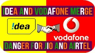 Vodafone Idea merger : Jio in Danger | 10 Side Effects on Indian telecom industry - HINDI