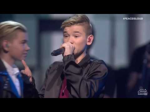 Marcus & Martinus live Without You and Bae | Nobel Peace Prize 2016🙏🏼