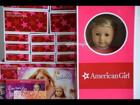 Opening And Reviewing American Girl Isabelle ~ Whole Collection Part 1