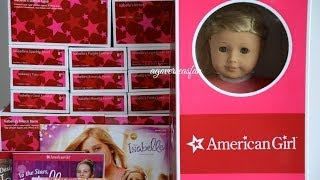 Opening American Girl Doll Isabelle ~ Whole Collection ~ Part 1