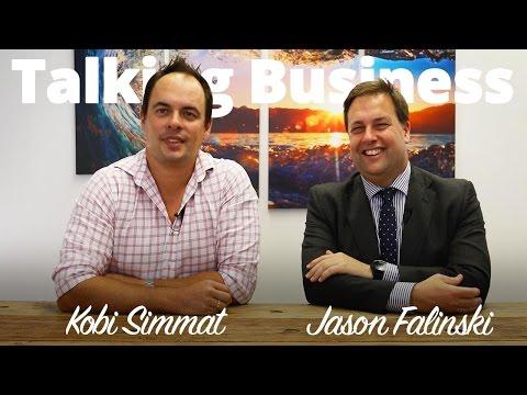 Educating Business   Liberal Member for Mackellar Jason Falinski   #TalkingBusiness Episode 06