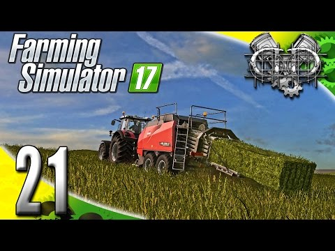 Farming Simulator 2017 Gameplay :EP21: Feeding the Animals, and Square Bales! (PC HD GIANTS Island)
