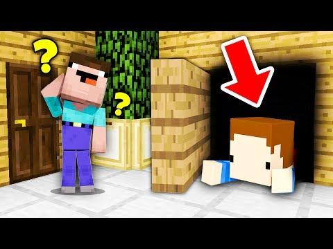 SEKRETNY POKÓJ W CHOWANYM! - Minecraft Hide'n Seek