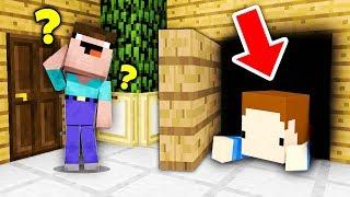SEKRETNY POKÓJ JAKO KRYJÓWKA W CHOWANYM! - Minecraft Hide'n Seek