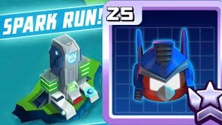 Angry Birds Transformers God Mode Spark Run Optimus Prime