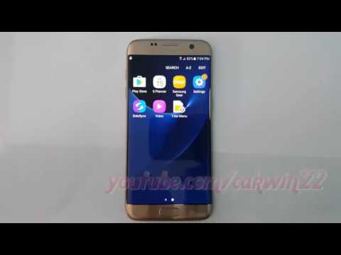 Samsung Galaxy S7 Edge : How to Clear all cached data (Android Marshmallow)