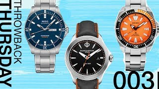 Throwback Thursday: Some of the Best Affordable Watches