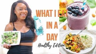 WHAT I EAT IN A DAY TO LOSE WEIGHT | HEALTHY & FAST MEALS FOR A BUSY LIFESTYLE!