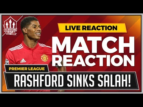 Manchester United 2-1 Liverpool | RASHFORD Goals Win It!