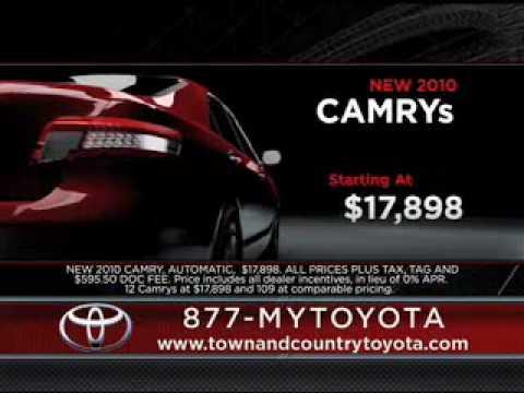 Town And Country Toyota >> Town And Country Toyota Camry