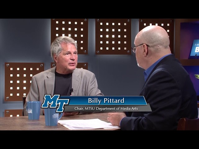 Out of the Blue: MTSU Department of Media Arts