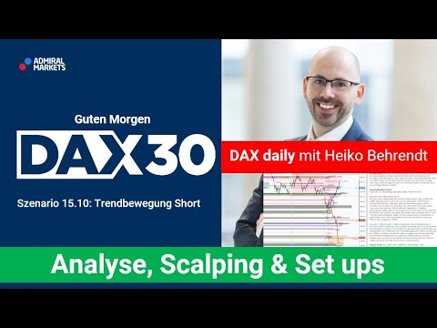 DAX aktuell: Analyse, Trading-Ideen & Scalping | DAX30 | CFD Trading | DAX Analyse | 15.10.2020