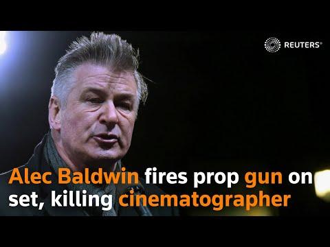 Alec Baldwin fires prop gun on movie set, killing cinematographer Halyna Hutchins