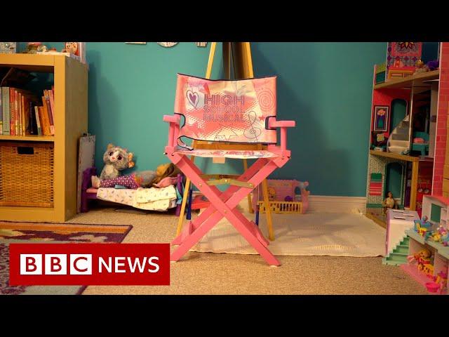The children taken by their dads  - BBC News