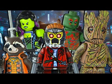 LEGO Marvel : Guardians of Galaxy Minifigures - Scase