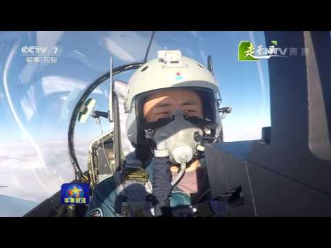 China air force J-10A in Tibet