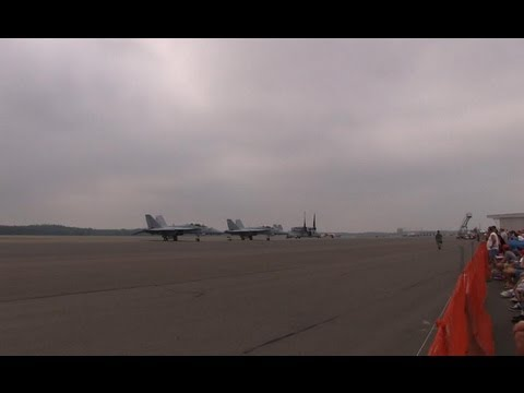 2012 Great New England Airshow - Show Opening & Commencing