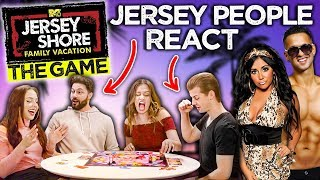 Real Jersey People Play The Jersey Shore Game (NEW GAME!)