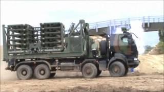 Renault Trucks Defense vehicles at Eurosatory 2012