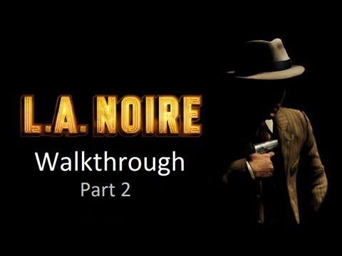 LA Noire Walkthrough: Case 1 - Part 2 [1080p HD] (PS3/XBOX 360)