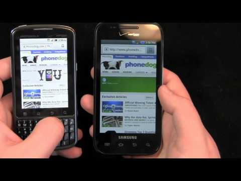 Motorola Droid Pro vs. Samsung Fascinate Dogfight Part 2