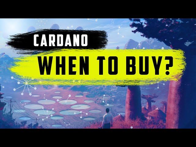 CARDANO : What Price I'm BUYING ? (With Risk & Seasonality Update)
