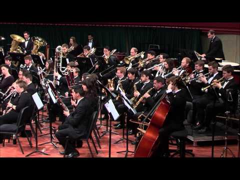 UNT Wind Symphony: Mackey's Frozen Cathedral