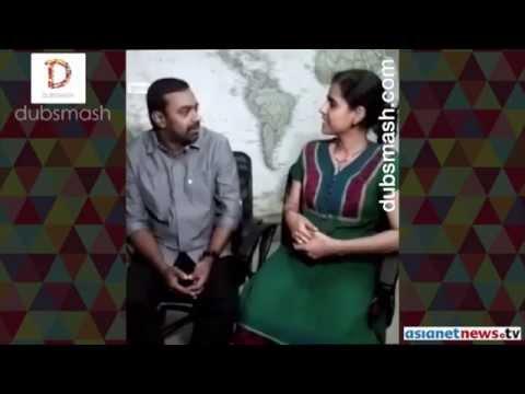 Asianet News Dubsmash | Abhilash G Nair and Priya Elavally Madom