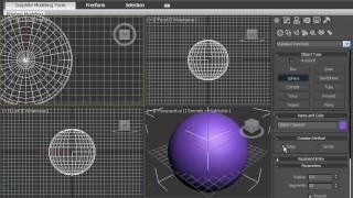 Создание сферы в 3DsMax 2010 (13/42)