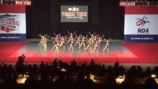 Texas Tech Pom Squad - 2018 NDA D1A Jazz National Champions