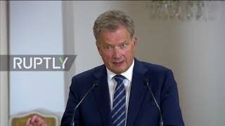 Finland: 'Dialogue is needed' – Niinisto on Trump-Putin talks